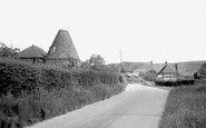Brook, Oast House And Wexhill Cottage 1962