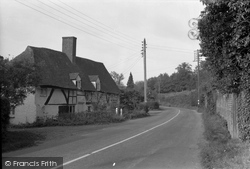 Brook, Old Cottages 1957