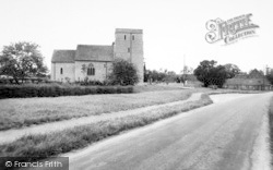 Brook, St Mary's Church 1962