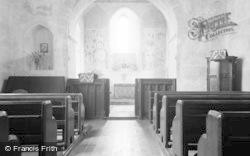 Brook, St Mary's Church Interior 1962