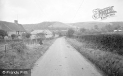 Brook, The Hill Above The Village 1956