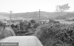 Brook, View From Spelders Hill 1962