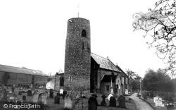 St Peter's Church c.1955, Brooke