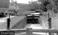Brookwood, Basingstoke Canal c1955