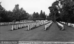 Brookwood, Commonwealth War Cemetery c.1960
