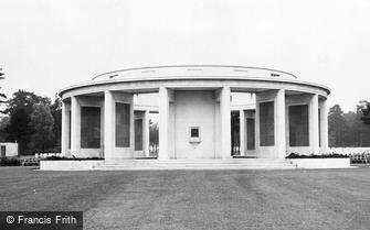 Brookwood, Memorial, the Brookwood Military Cemetery c1960