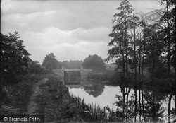 Brookwood, Stamps Bridge 1914