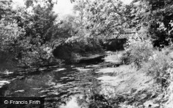 Brookwood, The Canal c.1960