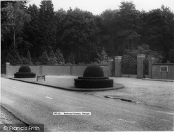 Brookwood, The Cemetery c.1960
