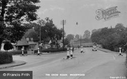 Brookwood, The Cross Roads c.1950