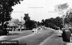 Brookwood, The Cross Roads c.1965