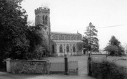 Broseley, All Saints' Parish Church c.1960