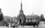 Broseley, Children By The Monument 1904