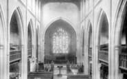 Broseley, Church Interior 1904