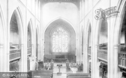 Broseley, Church Interior 1904