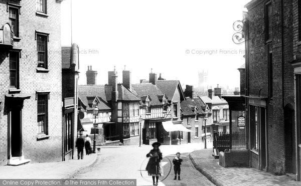 Broseley, High Street 1904