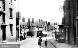 Broseley, High Street 1904