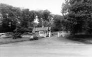Broseley, The Lodge c.1960