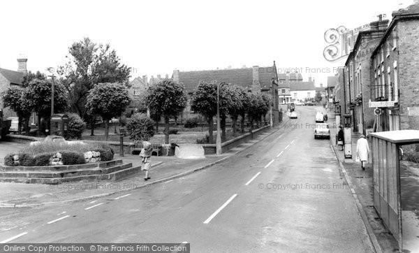 Broseley, The Square c.1965