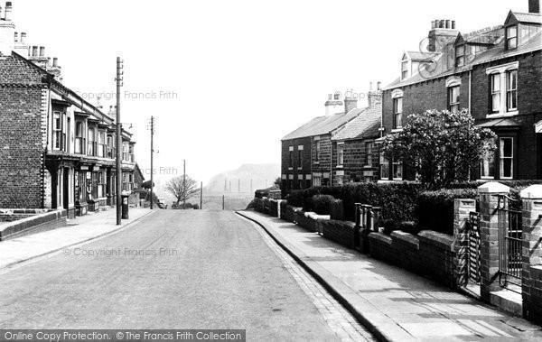 Brotton, High Street c.1955