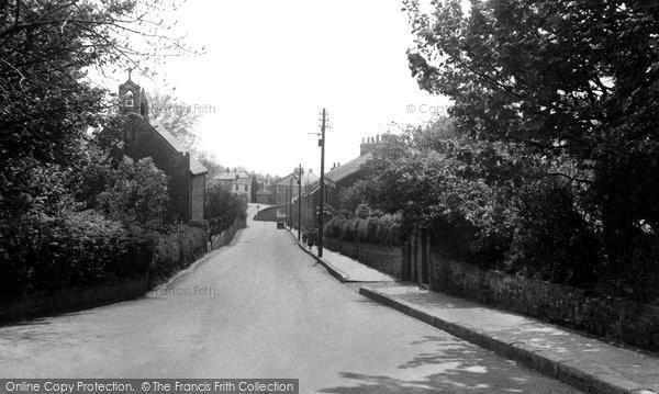 Brotton, Skelton Lane c.1953