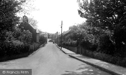Brotton, Skelton Lane c.1953