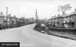 Brotton, Skelton Lane c.1955