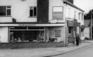 Broughton Astley, Newsagent, Main Street c.1967