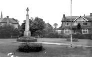 Broughton Astley, The Memorial c.1967