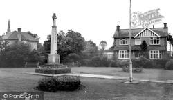 The Memorial c.1967, Broughton Astley