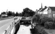 Broughton Astley, the Stream c1967