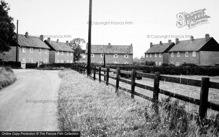 Photo of Broughton, Beech Crescent c.1955