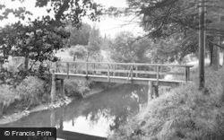 Broughton, Biggar Water c.1930
