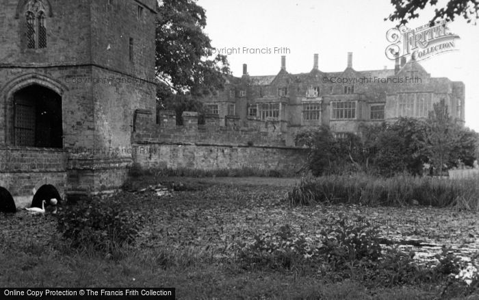 Photo of Broughton, Castle From Gatehouse 1952