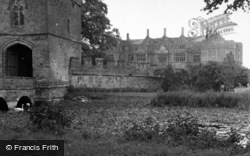 Broughton, Castle From Gatehouse 1952