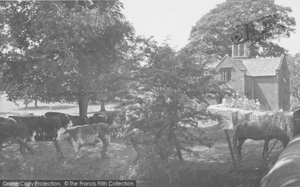 Photo of Broughton, Castle Lodge c.1955