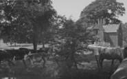 Broughton, Castle Lodge c.1955