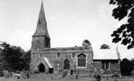 Broughton, Church c.1955