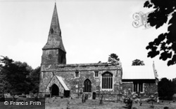 Broughton, Church c.1955