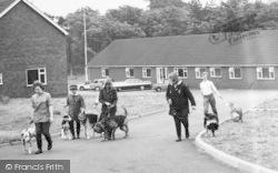 Broughton, Dog Walking, The Jerry Green Animal Sanctuary c.1960