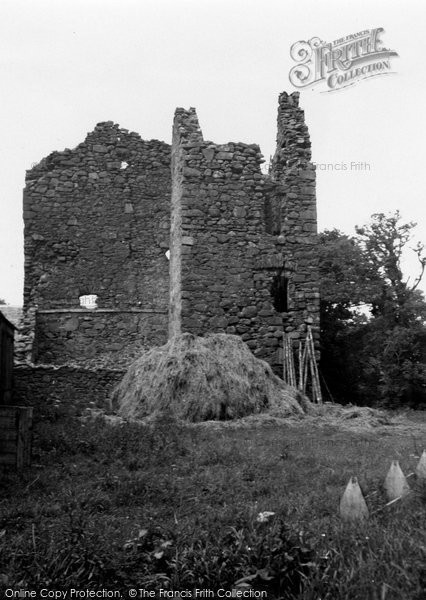 Broughton, Drummelzier Castle 1951