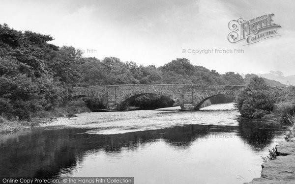 Broughton In Furness, The Duddon Bridge c.1959