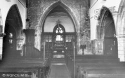 Broughton, Parish Church, Interior c.1960