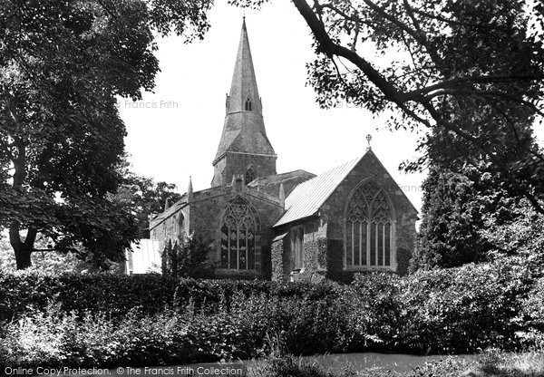 Photo of Broughton, St Mary's Church 1921