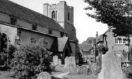 Broughton, St Mary's Church c.1960