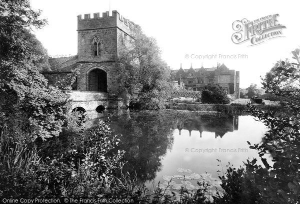 Photo of Broughton, The Castle And The Gatehouse 1922