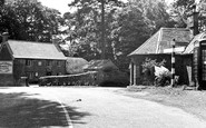 Broughton, The Cross Roads c.1955