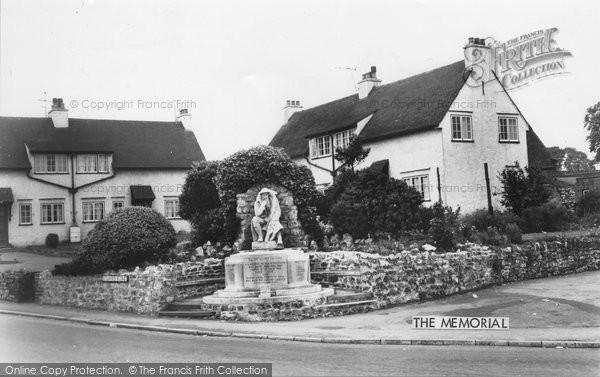 Broughton, the Memorial c1965
