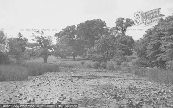 Photo of Broughton, The Moat c.1955
