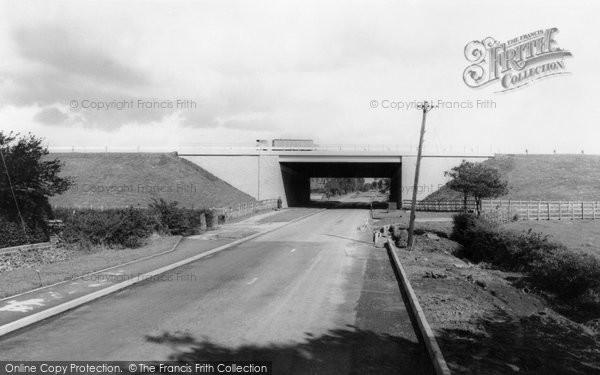 Broughton, The Motorway Bridge c.1966